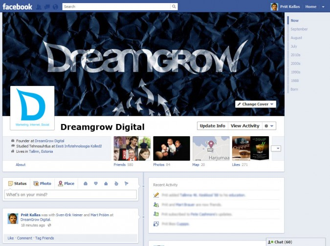 Basic Setup of a Facebook Business Page