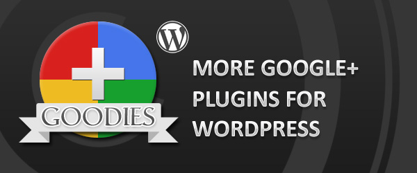 Pimp your website with a Google Plus plugin