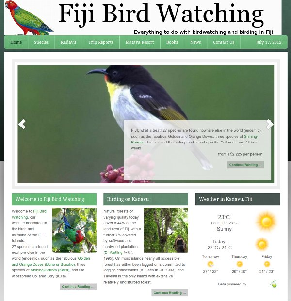 Fiji-Bird-Watching.com