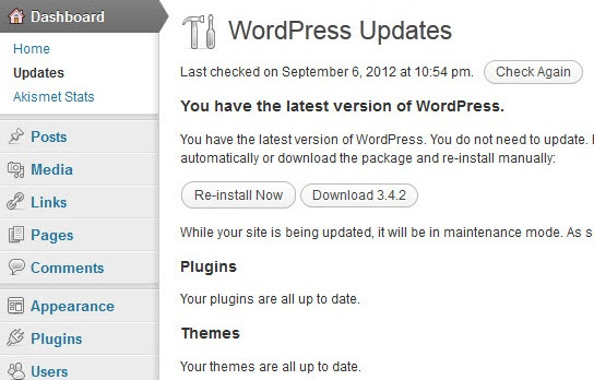 WordPress 3.4.2 Security Update out now!