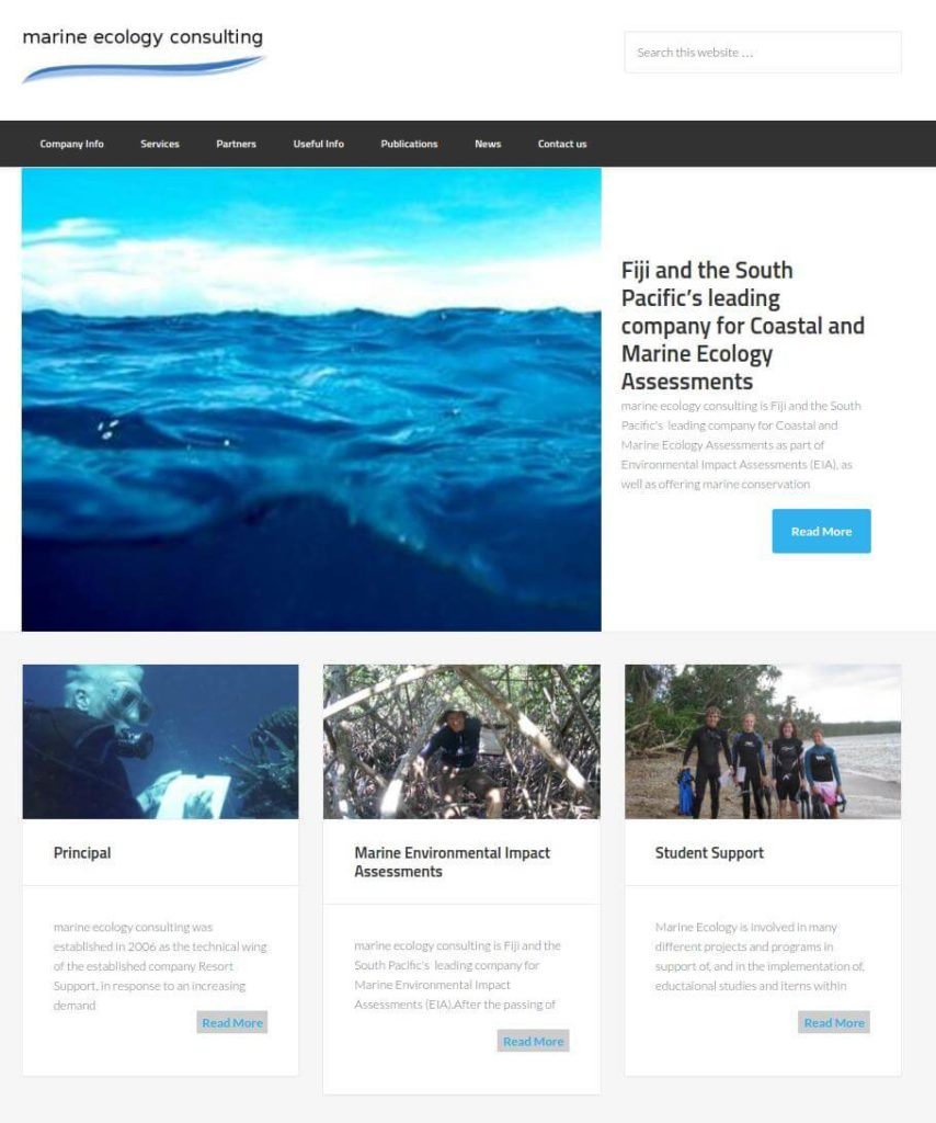 MarineEcologyFiji.com