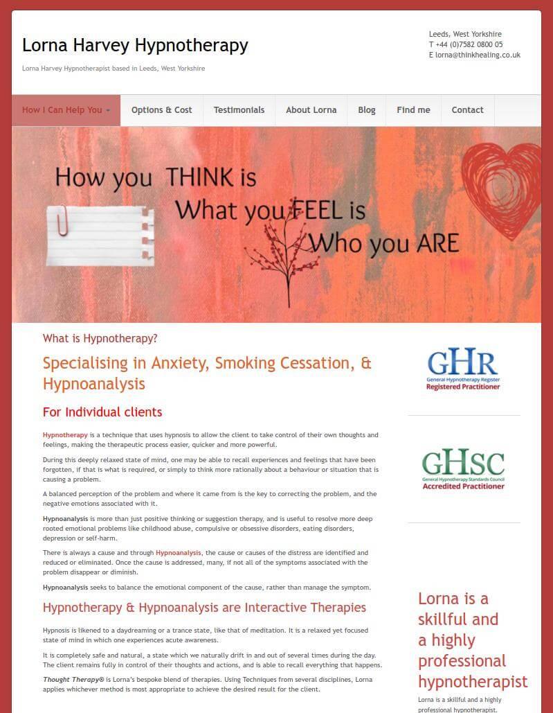 Lorna Harvey Hypnotherapy