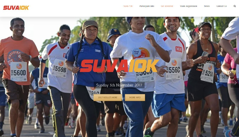 Suva10k-website
