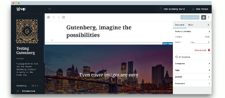Are you ready for Gutenberg? It arrives in a few days…. :)